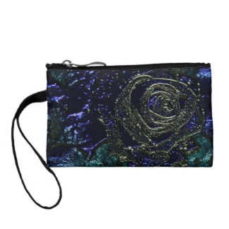 Night Rose Coin Purse