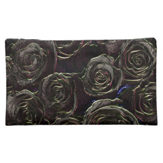 Night Rose  Garden cosmetic bag