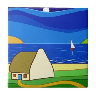 Night Sailing Ceramic Tiles