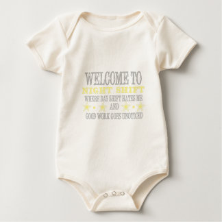 Night shift baby bodysuit