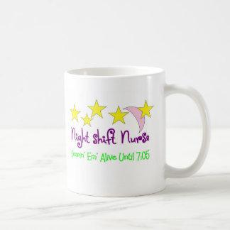 Night Shift Nurse Keepin Em alive until 7:05 Mugs