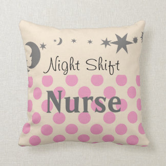 Night Shift Nurse Pillow