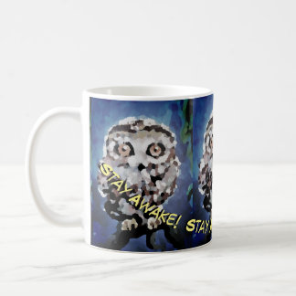 Night Shift Owl Coffee Mug