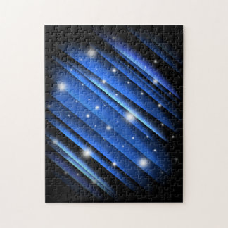 Night Sky Abstract Puzzle