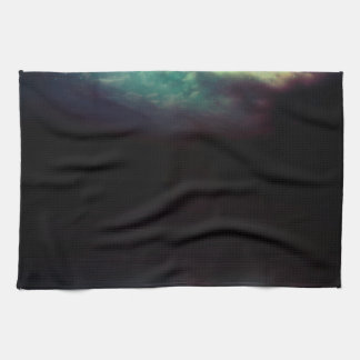 Night Sky and River 2 Kitchen Towel