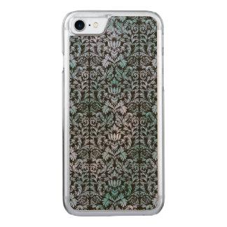 Night Sky Batik Shibori Blue Damask Mottled Carved iPhone 7 Case