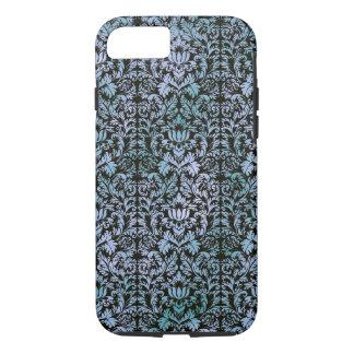 Night Sky Batik Shibori Blue Damask Mottled iPhone 8/7 Case