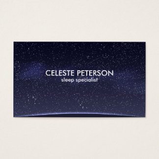 Night Sky - Business Card