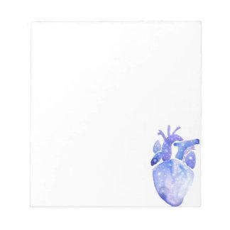 Night Sky Heart Notepad