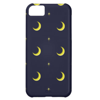 Night Sky Moon and Stars cell phone case