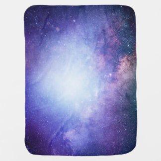 Night Sky Outer Space Baby Blanket