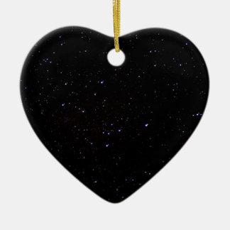 Night Sky Space Ceramic Ornament