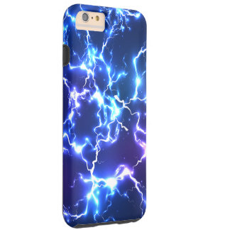 Night Sky Tunderstorm Lightning Tough iPhone 6 Plus Case