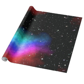Night sky wrapping paper