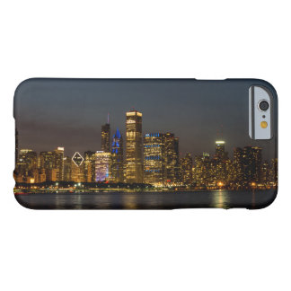 Night Skyline Chicago Pano Barely There iPhone 6 Case