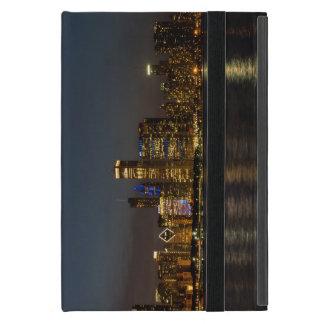 Night Skyline Chicago Pano Case For iPad Mini