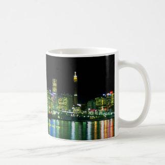 Night skyline from Balmain, Sydney, New South Wale Coffee Mug