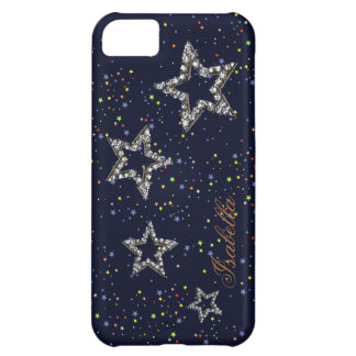 night stars personalizable cover for iPhone 5C