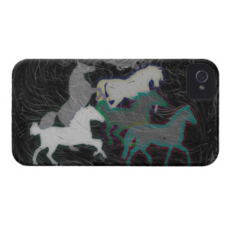 NIGHT STORM HORSE HERD iPhone 4 COVERS