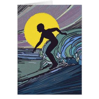 Night Surfer Card