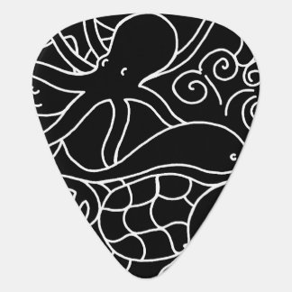 Night Swimming Guitar Pick