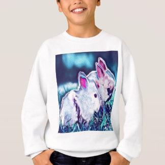Night Time Dwarf Bunnies Sweatshirt