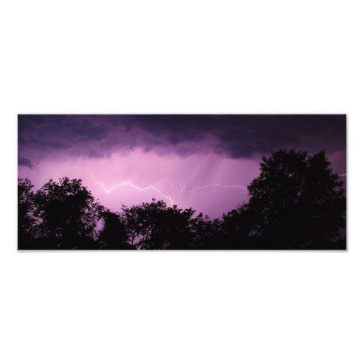 Night Time Summer Lightning Photograph