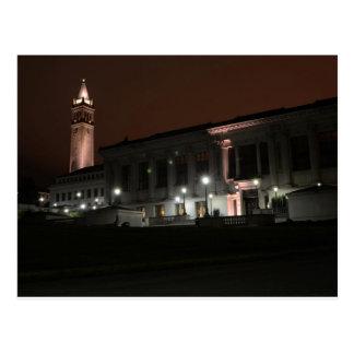 Night Time U.C. Berkeley Postcard