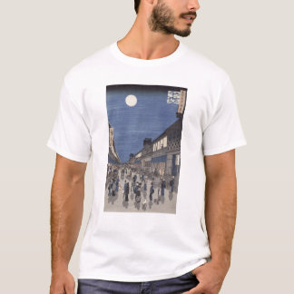 Night time view of Saruwaka Street T-Shirt