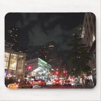 Night Traffic at Lincoln Center New York City NYC Mouse Pad