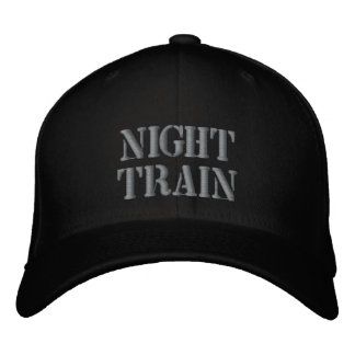 NIGHT TRAIN EMBROIDERED HAT