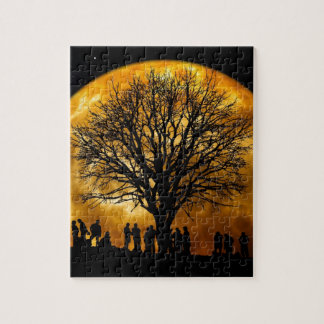 Night Tree Jigsaw Puzzle