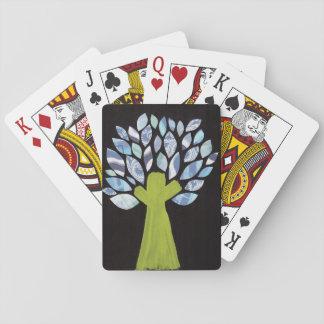 Night Tree Playing Cards