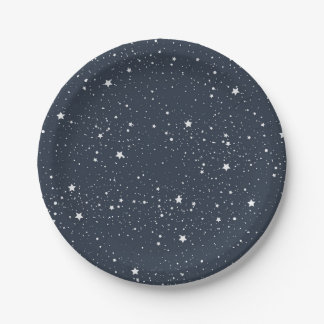 Night Under the Stars Paper Plate
