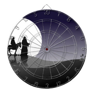Night view dartboard