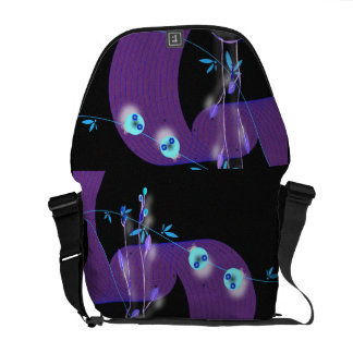 Night Vision Ladbugs Courier Bags
