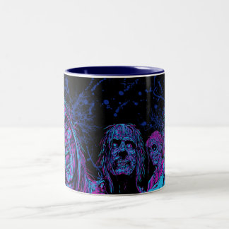 Night Vision Surprise - Funky Two-Tone Coffee Mug