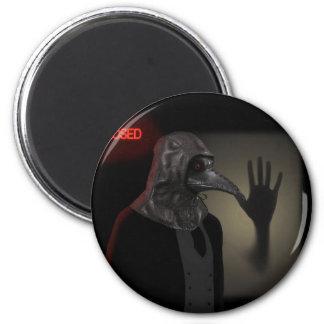 Night walk 2 inch round magnet