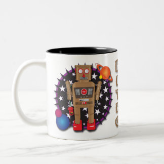 Night Watch Bot Mug Design