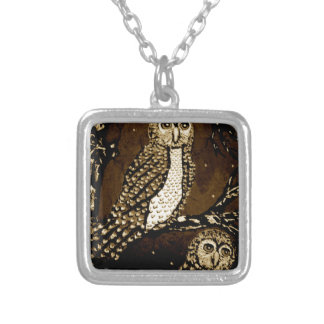 Night WatchersIMG_0247.JPG Silver Plated Necklace