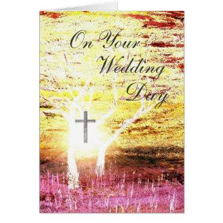 Night Wedding Card