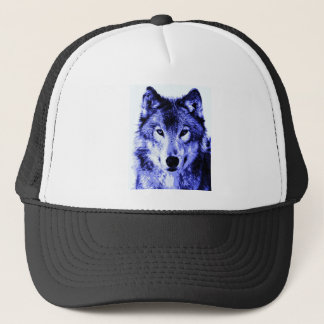 Night Wolf Trucker Hat