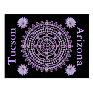 Nightblooming Mandala Postcard