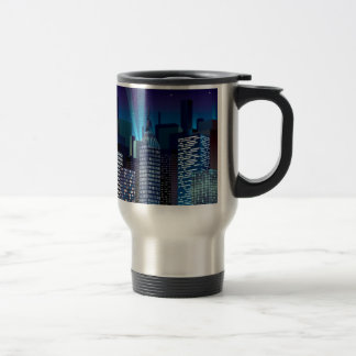 NightCityScape_VectorDTL Travel Mug