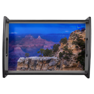 """Nightfall Approaches"" Grand Canyon Serving Tray"