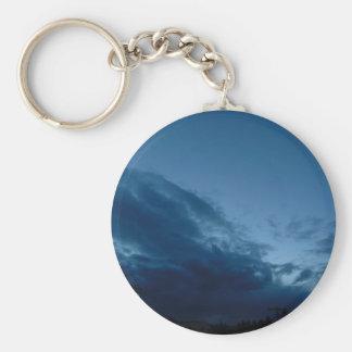 Nightfall Basic Round Button Keychain