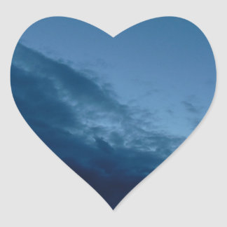 Nightfall Heart Sticker