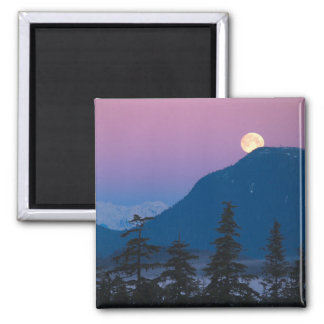 Nightfall in Alaska Magnet