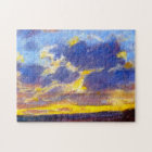 Nightfall Monet Fine Art Jigsaw Puzzle