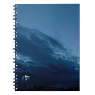 Nightfall Spiral Note Books